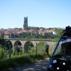 Auf der 1.Etappe der Spanien Tour, Bern unser Regierungssitz, 28.06.2015