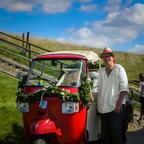 Hochzeitsfahrt zur Dicken Bertha 2016