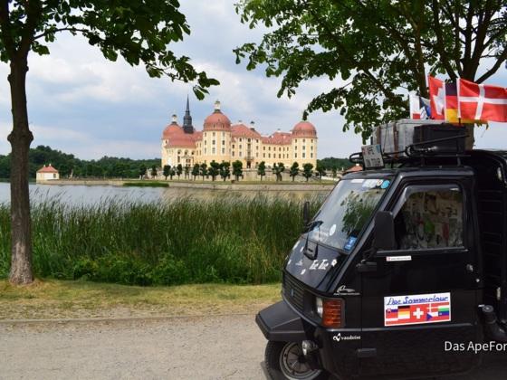 Schloss Moritzburg / Ape-Sommertour 2018