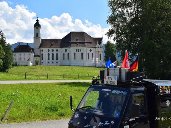 Wieskirche in Steingaden, 12.08.2017
